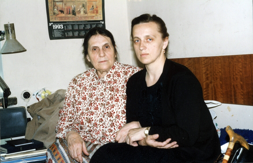 Наталия Маслова с Ириной Васильевной Ватагиной
