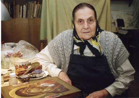 Иконописец И.В. Ватагина