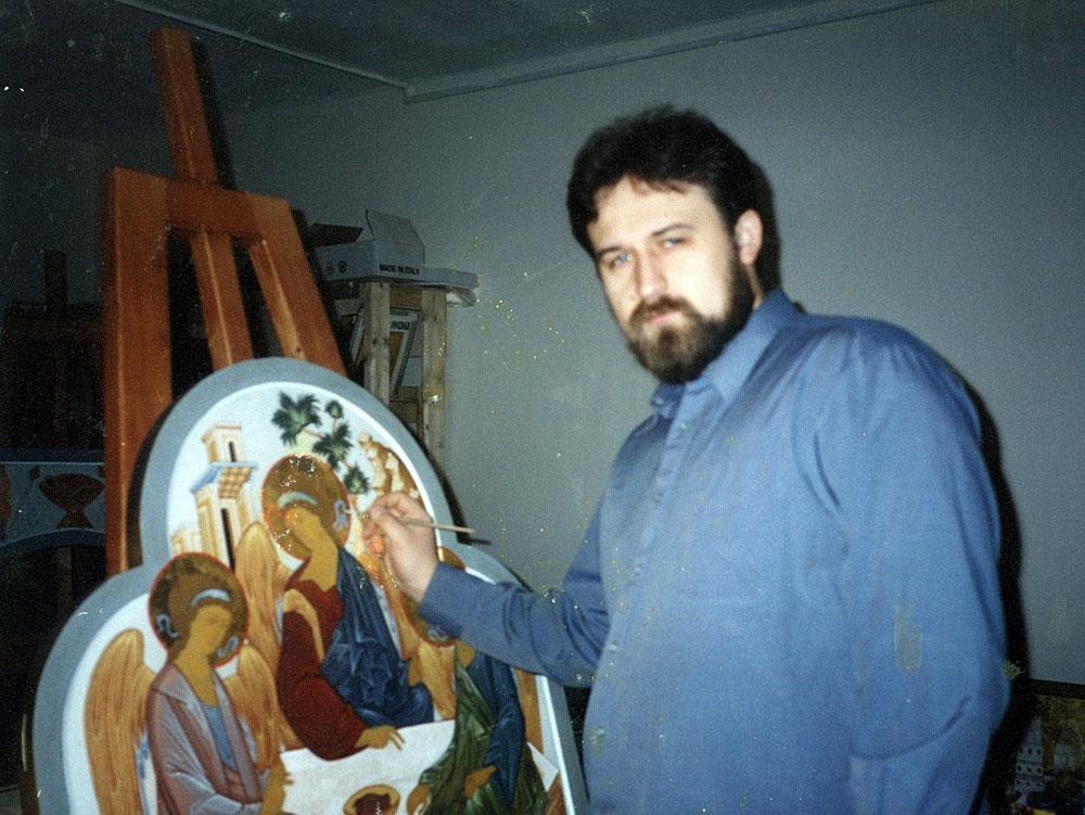Иконописец Алексей Маслов