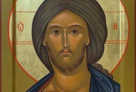 Икона Спасителя оплечная